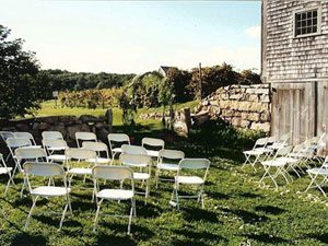 Bourne Farm outdoor seating