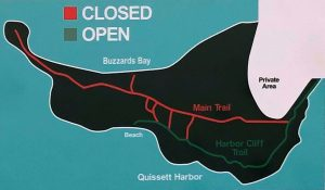 Knob revetment repair trail map
