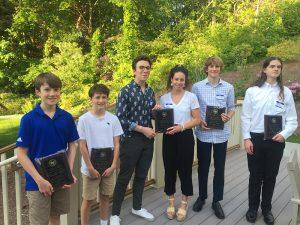 Recipients of the Zinn Scholarship